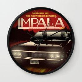 NOW BOARDING: IMPALA Wall Clock