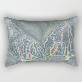 Attitash Mountain Resort Rectangular Pillow