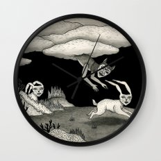 The Abduction Wall Clock