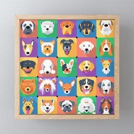 Facedogs Framed Mini Art Print