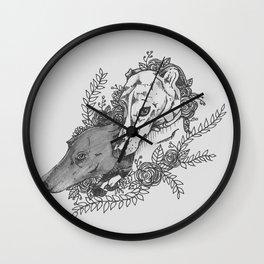 Galgos Wall Clock