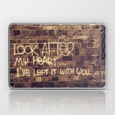 Take Care of My Heart Laptop & iPad Skin