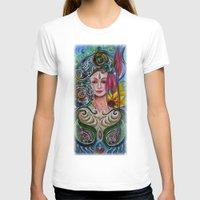 chakra T-shirts featuring Chakra Mandla by Harsh Malik