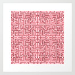 Symmetry 9 Art Print