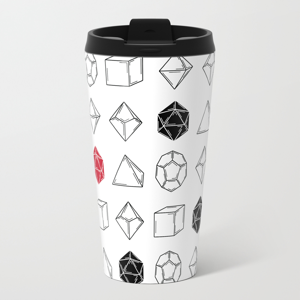 Dungeons And Dragons Dice Travel Cup TRM7650925