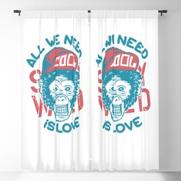 All we need is Love Blackout Curtain
