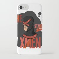 xmen iPhone & iPod Cases featuring The X stands 4 XMEN by JakbTIME