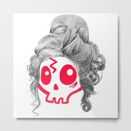 Wendy the Wig Metal Print