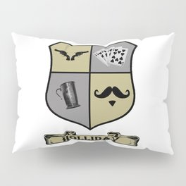 Doc Holliday Coat of Arms Pillow Sham