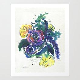 Feeling Violet Art Print