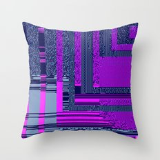 taintedcanvas159 Throw Pillow