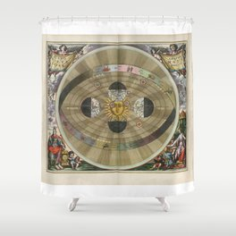 Harmonia Macrocosmica - Plate 5 Shower Curtain