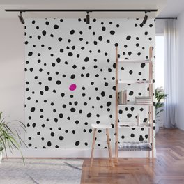 Stand out from the crowd - Dalmatian print Wall Mural