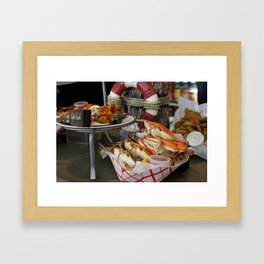Lunch at the French Market, 1 Framed Art Print