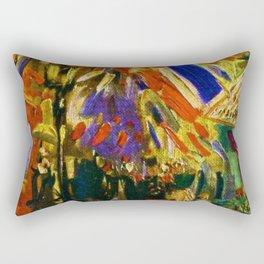 Fourteenth of July Celebration in Paris by Vincent van Gogh Rectangular Pillow