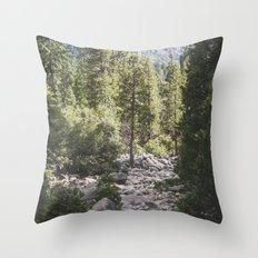 Yosemite Park, California Throw Pillow