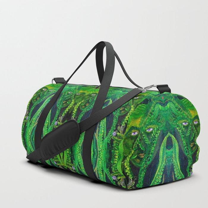 Garden Gardian Gnomes and Fairies Duffle Bag