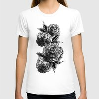 bioworkz T-shirts featuring Four Roses by BIOWORKZ