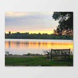 A restful place Canvas Print
