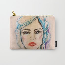 Girl Portrait Carry-All Pouch