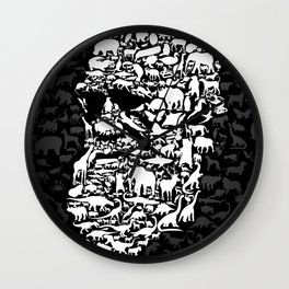 Darwin: Endless forms Wall Clock