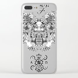 Mabon the Forest's Spirit Clear iPhone Case