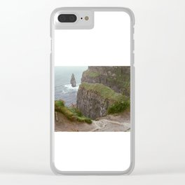 Cliffs of Mohr Clear iPhone Case