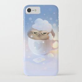 cup of owl iPhone Case