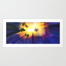 Movement of Energy Art Print