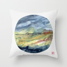 genius loci 2 Throw Pillow