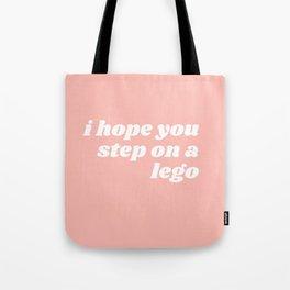 step on a leggo Tote Bag