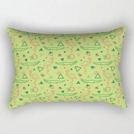 Miami Vibes Rectangular Pillow
