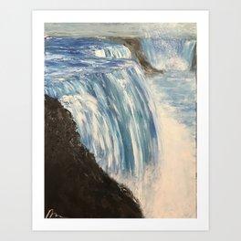 View of Niagara Falls Art Print
