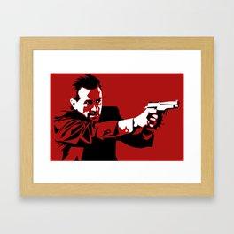 I Will Not Hesitate Framed Art Print
