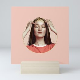 HANDS OF GOLD Mini Art Print