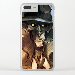 Nick Valentine Clear iPhone Case