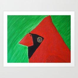 Cardinale Art Print