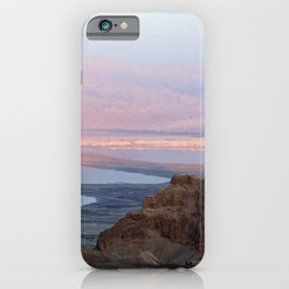 Masada Sunset iPhone Case