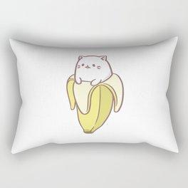 Cat Banana ) Rectangular Pillow