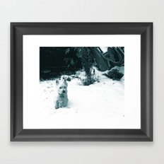 This is Snow Fun... Framed Art Print