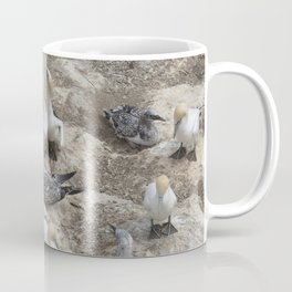 Gannets in a row Coffee Mug