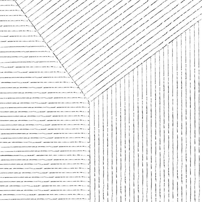 Lines Art Duvet Cover