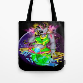 Universal Frequencies Tote Bag