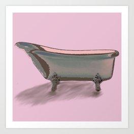 Bathtub Art Print