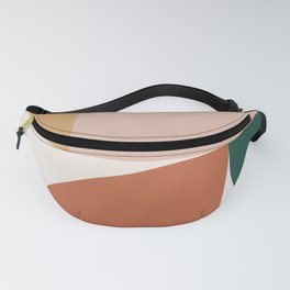 Abstract Geometric 10 Fanny Pack