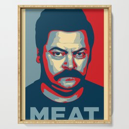 Ron Swanson Serving Tray