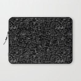 Physics Equations on Chalkboard Laptop Sleeve
