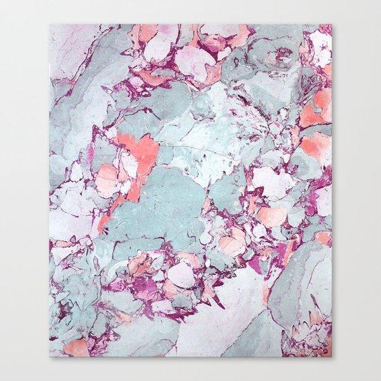 Marble Art V13 #society6 #pattern #decor #home #lifestyle Canvas Print