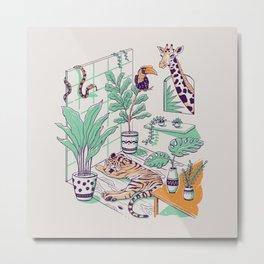 Urban Jungle Metal Print