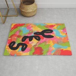 Typography Pop Art - Will There Be A Light? Yes - Inspirational Quotes Rug